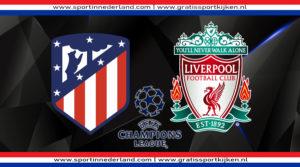Live stream Atletico Madrid - Liverpool FC