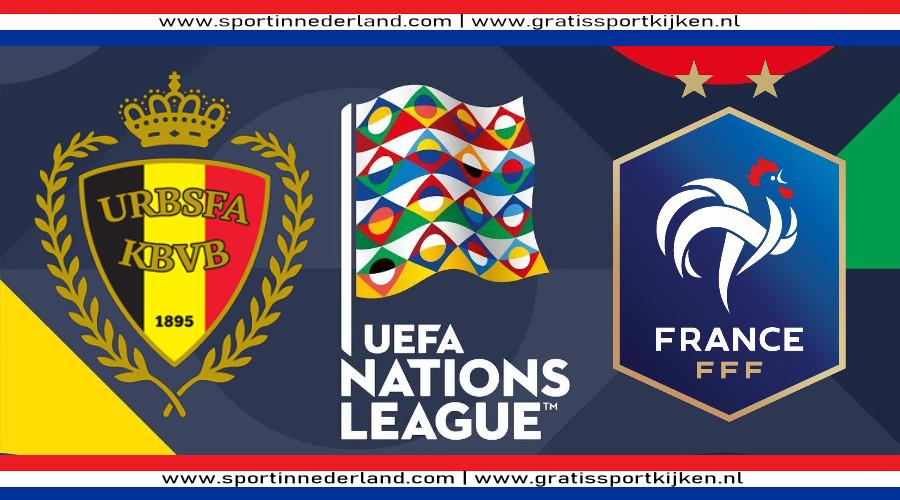 Live stream België - Frankrijk