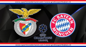 Live stream Benfica - FC Bayern