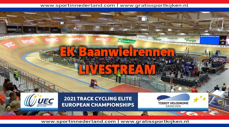 Live stream EK baanwielrennen in Grenchen