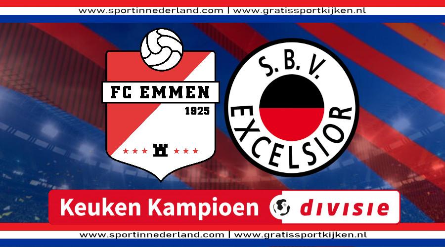 Live stream FC Emmen - Excelsior