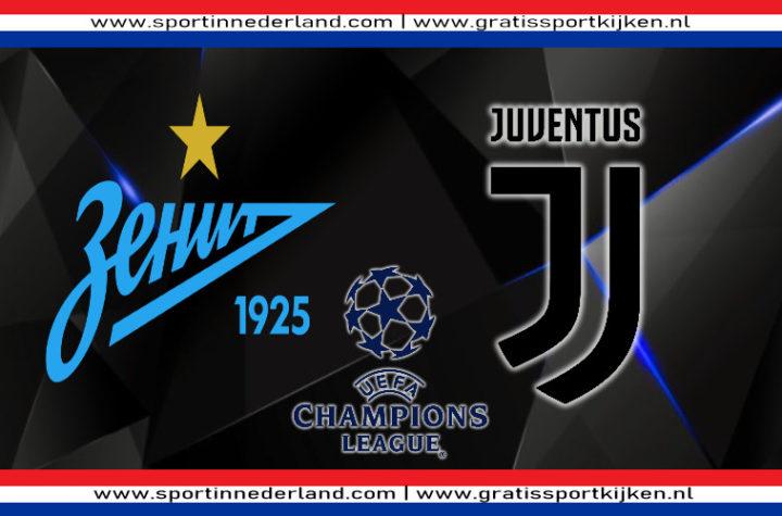 Live stream FC Zenit - Juventus