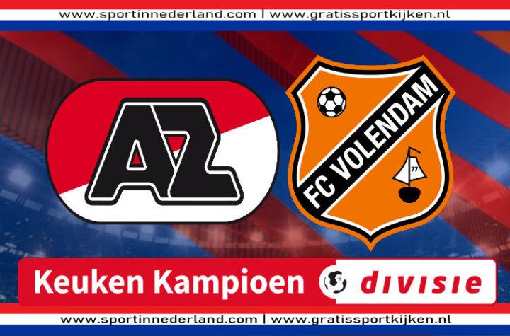 Live stream Jong AZ - FC Volendam