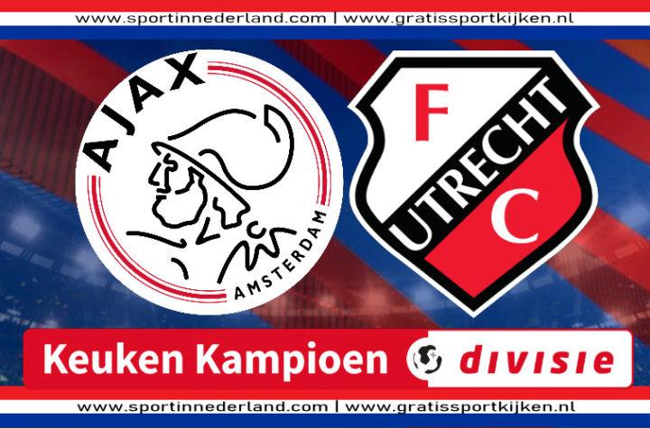 Live stream Jong Ajax - Jong FC Utrecht