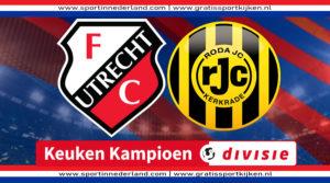 Live stream Jong FC Utrecht - Roda JC