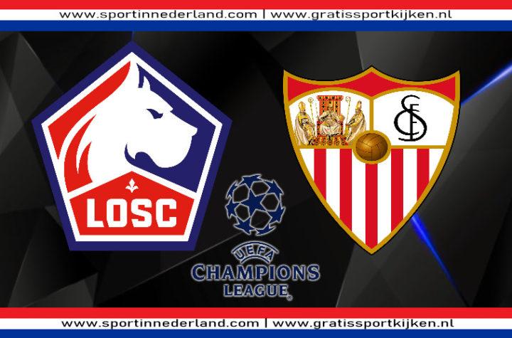 Live stream LOSC Lille - Sevilla FC