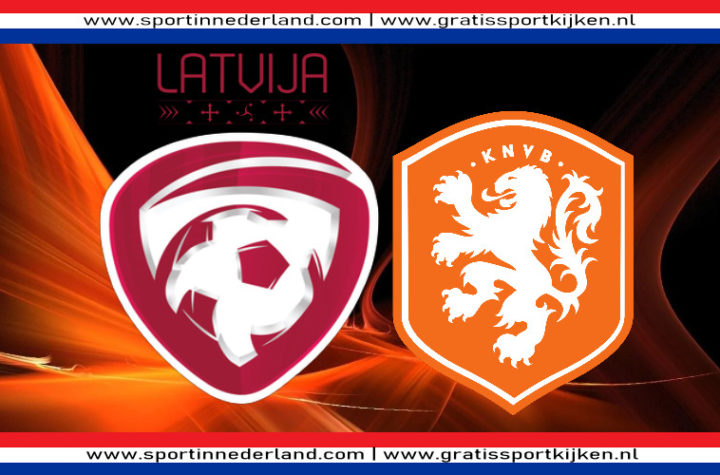 Live stream Letland - Nederland