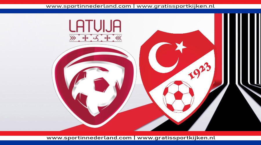 Live stream Letland - Turkije