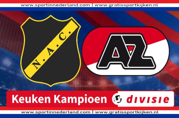 Live stream NAC Breda - Jong AZ