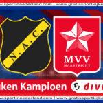 Live stream NAC – MVV