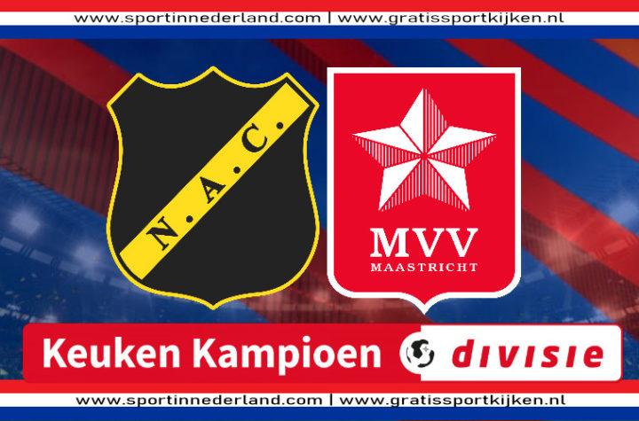 Live stream NAC - MVV
