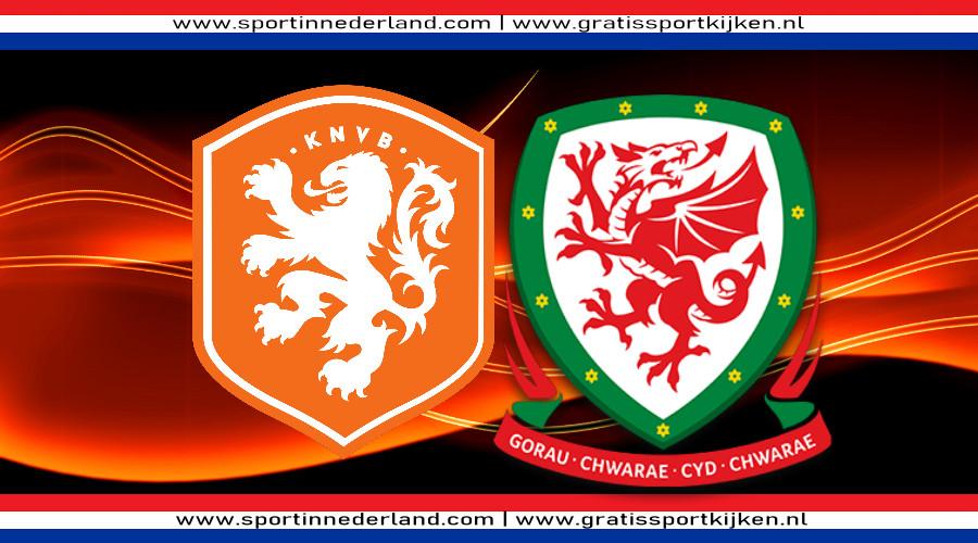 Live stream Nederland - Wales