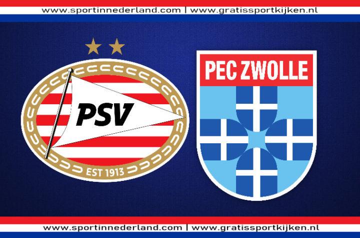 Live stream PSV - PEC Zwolle