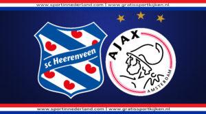 Live stream SC Heerenveen - Ajax