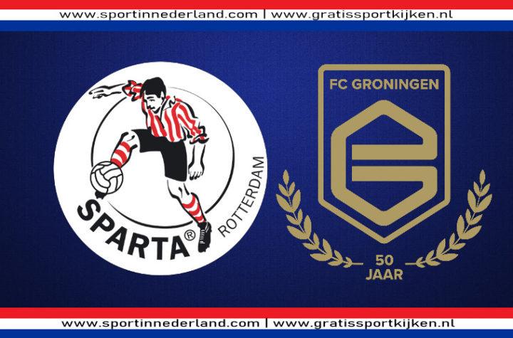 Live stream Sparta - FC Groningen