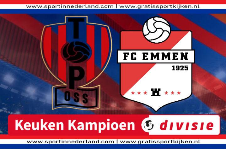 Live stream TOP Oss - FC Emmen