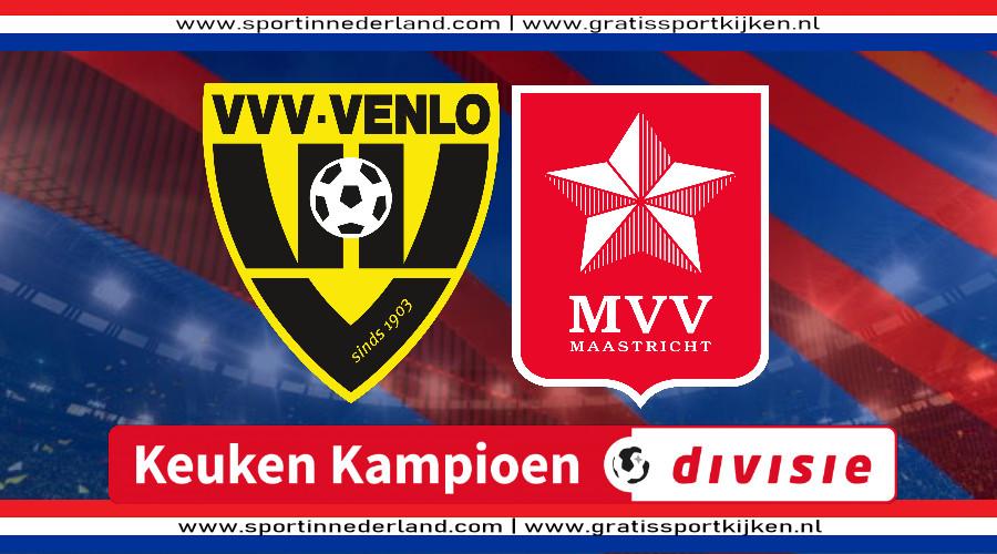 Live stream VVV Venlo - MVV Maastricht