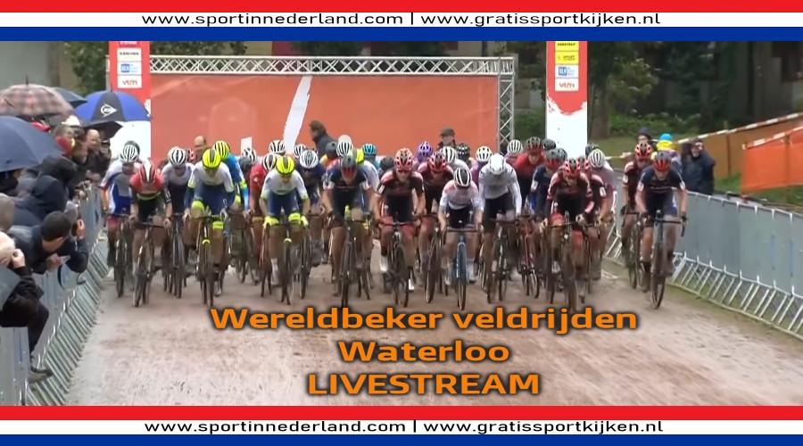 NU LIVE Wereldbeker veldrijden Waterloo LIVESTREAM