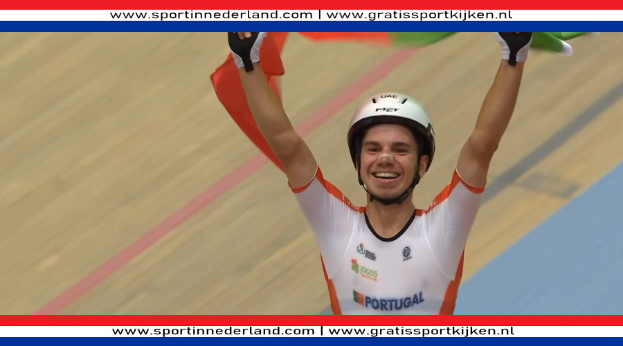 Oliveira wint, zilver voor Hoppezak op scratch