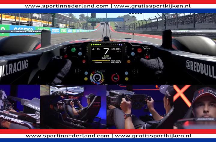 Rondje Circuit Of The Americas met Sergio Perez